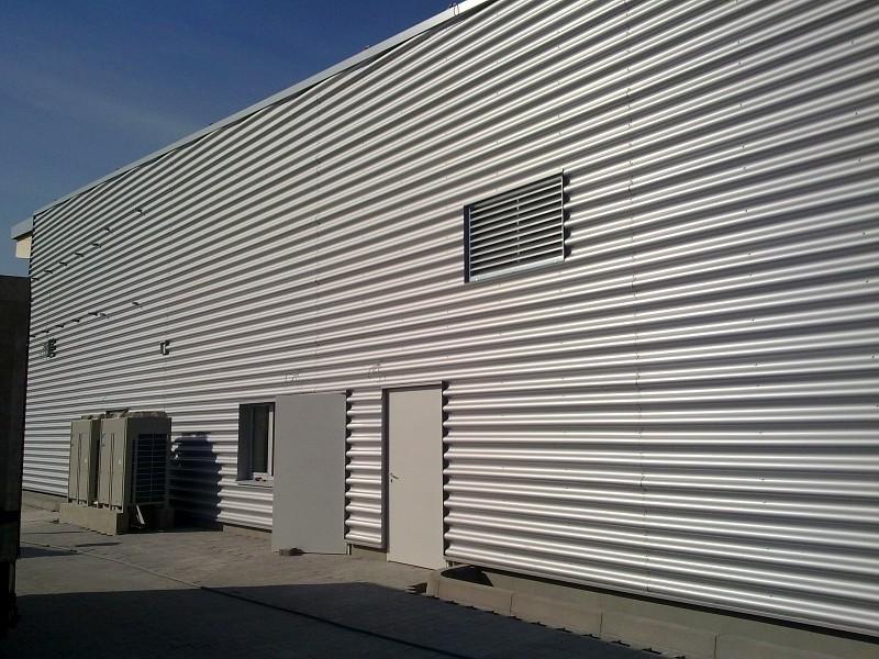 Fassaden Aus Blech Aluminium Profile Sandwichsysteme Von